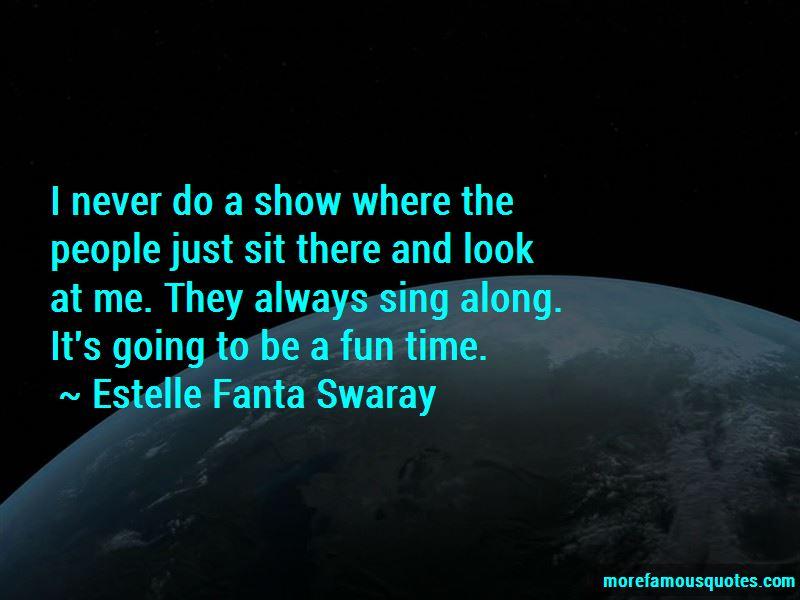Estelle Fanta Swaray Quotes Pictures 4