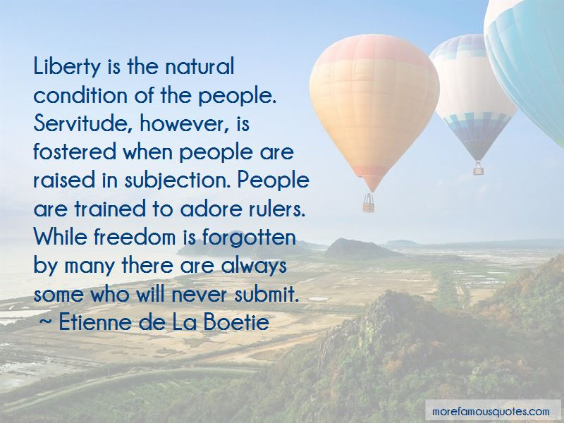 Etienne De La Boetie Quotes Pictures 3