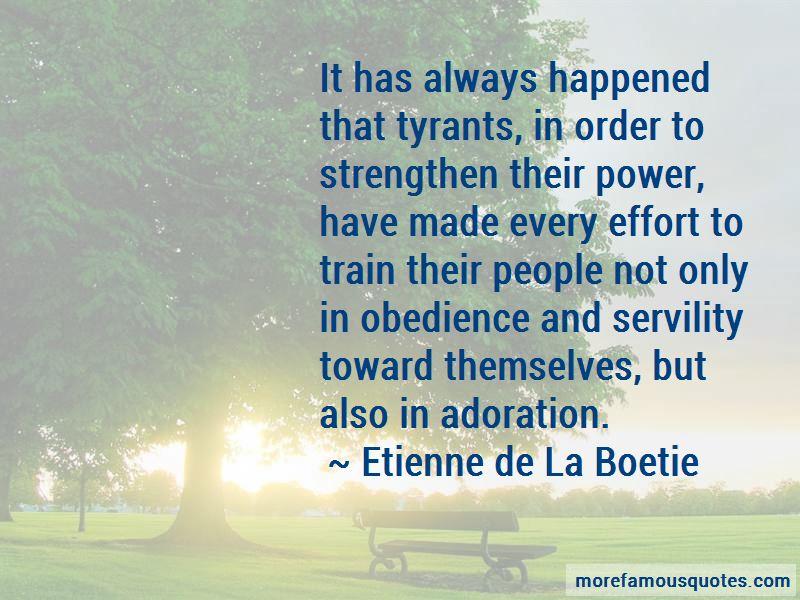 Etienne De La Boetie Quotes Pictures 4