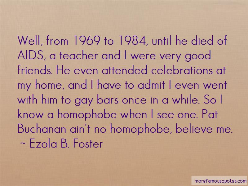 Ezola B. Foster Quotes Pictures 2
