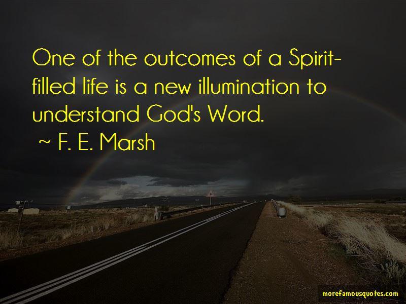 F. E. Marsh Quotes