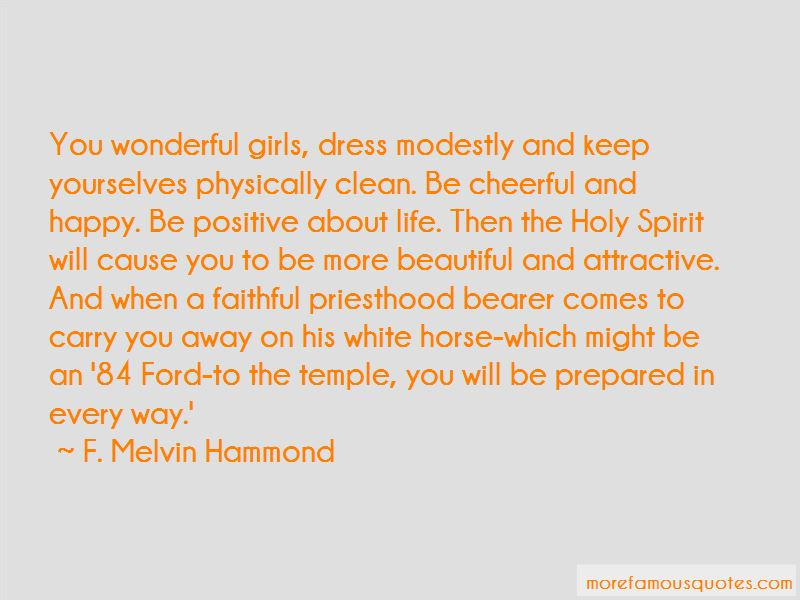 F. Melvin Hammond Quotes Pictures 2