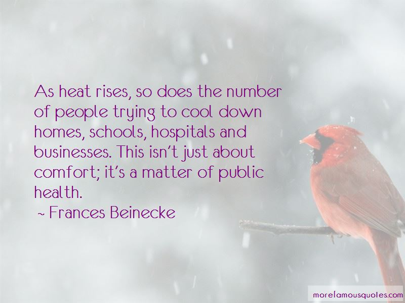 Frances Beinecke Quotes Pictures 2