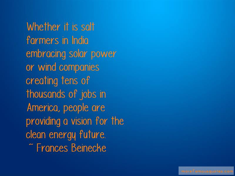 Frances Beinecke Quotes Pictures 3