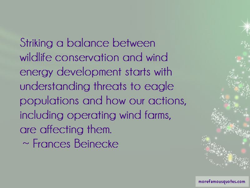 Frances Beinecke Quotes