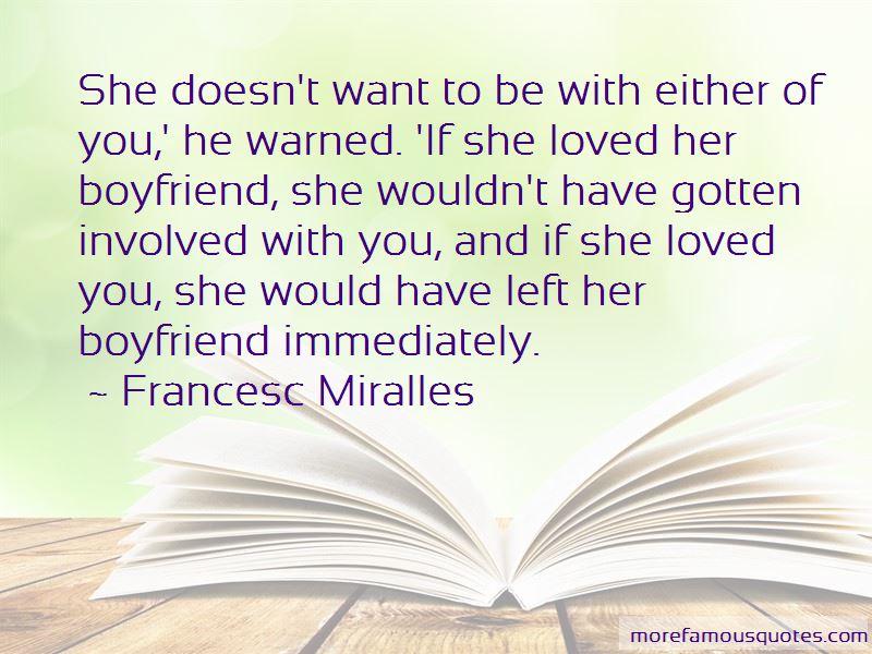 Francesc Miralles Quotes