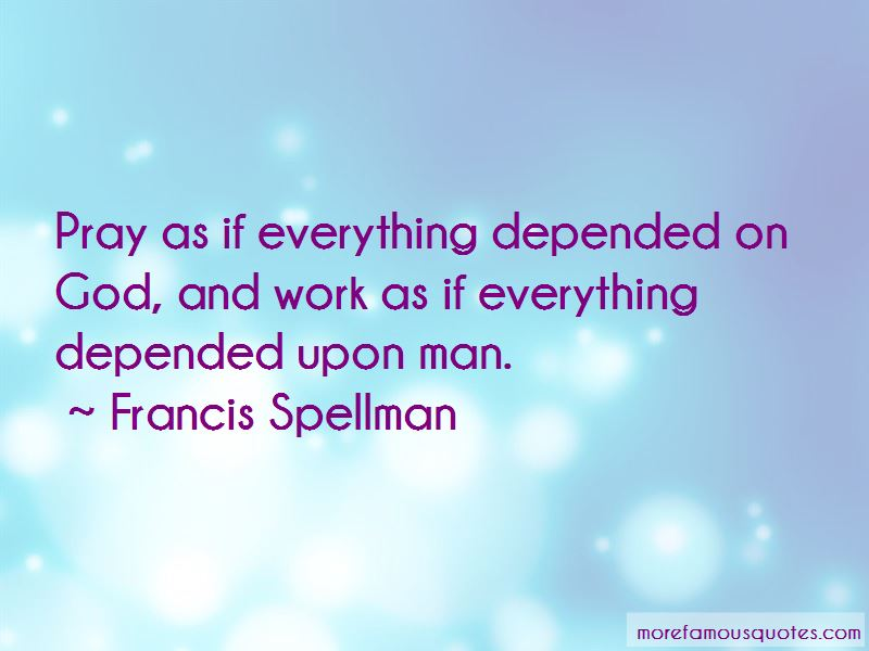 Francis Spellman Quotes Pictures 2
