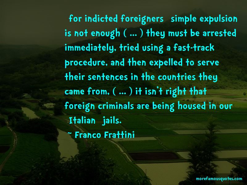 Franco Frattini Quotes