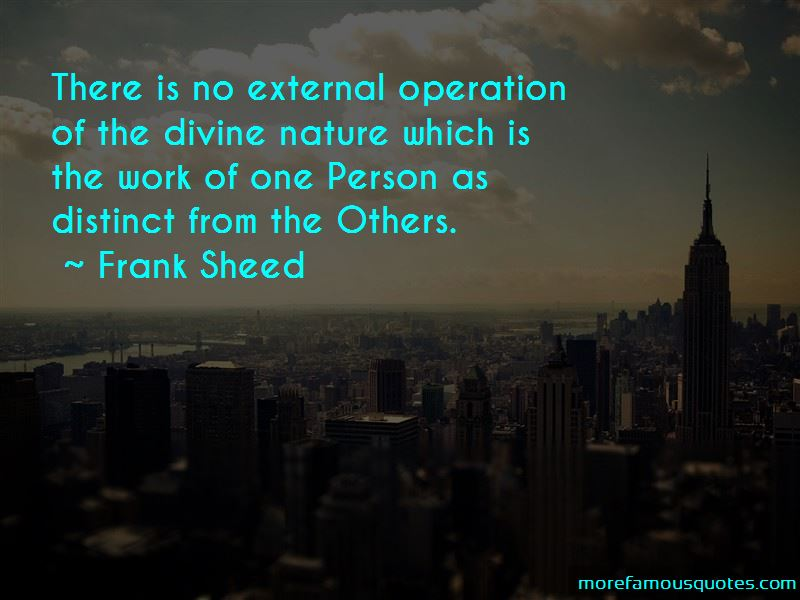 Frank Sheed Quotes Pictures 3