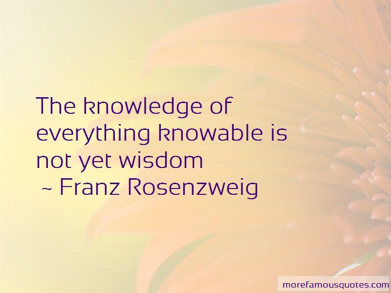 Franz Rosenzweig Quotes Pictures 3