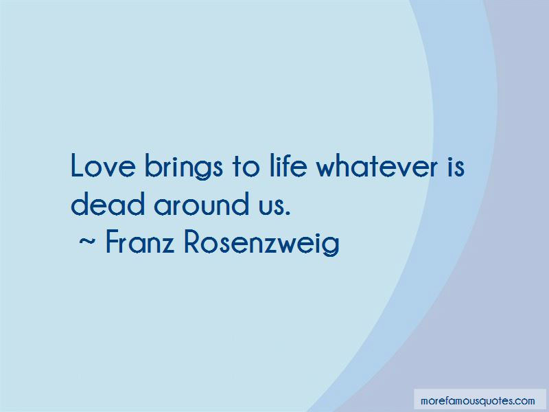 Franz Rosenzweig Quotes Pictures 4
