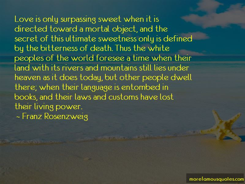 Franz Rosenzweig Quotes