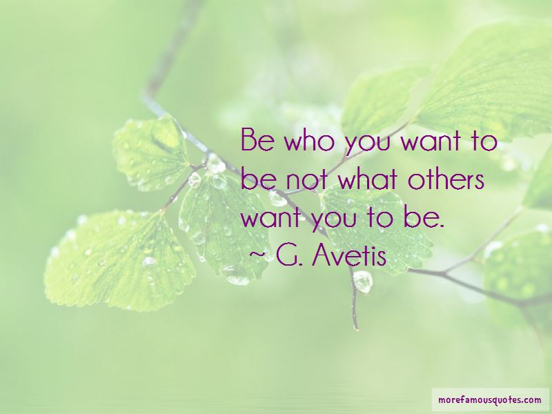 G. Avetis Quotes