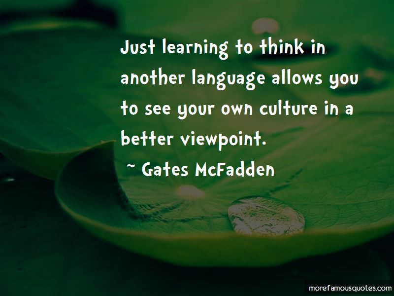 Gates McFadden Quotes Pictures 3