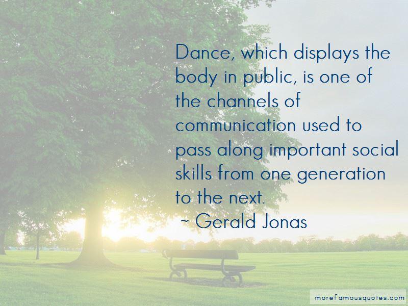 Gerald Jonas Quotes Pictures 3
