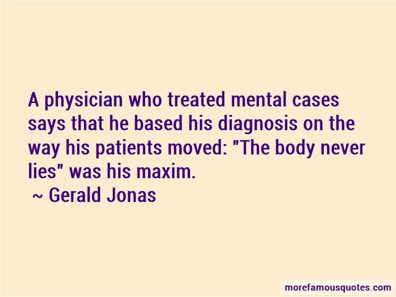 Gerald Jonas Quotes Pictures 4
