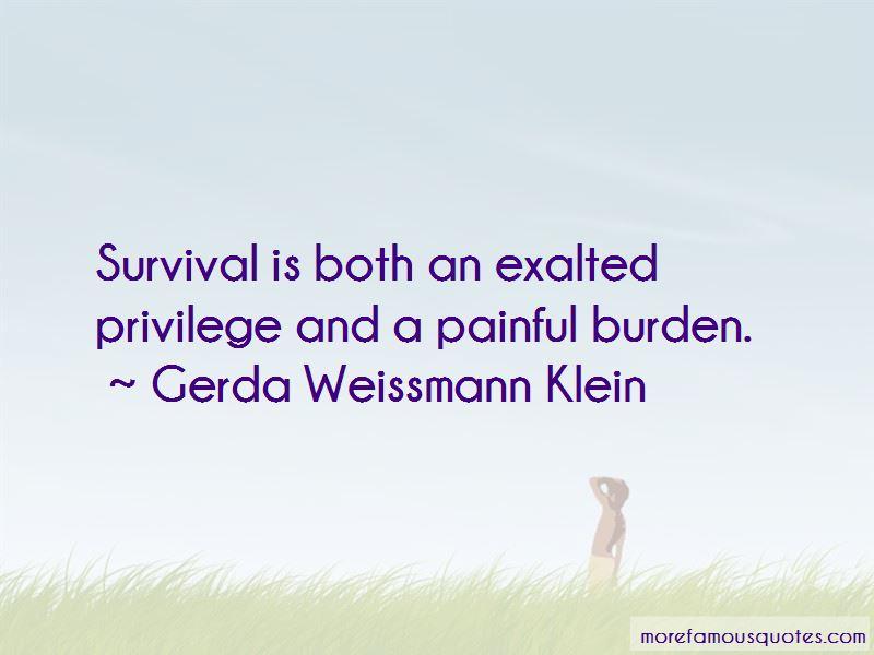 Gerda Weissmann Klein Quotes Pictures 2