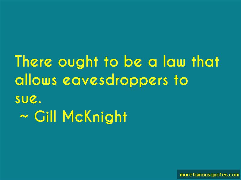 Gill McKnight Quotes