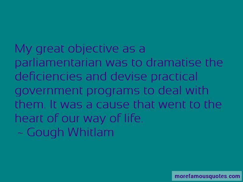 Gough Whitlam Quotes