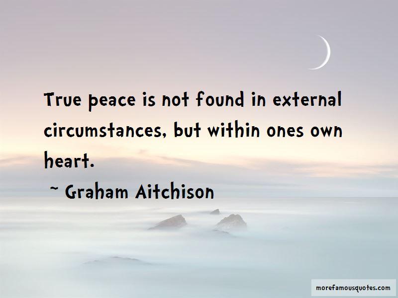 Graham Aitchison Quotes