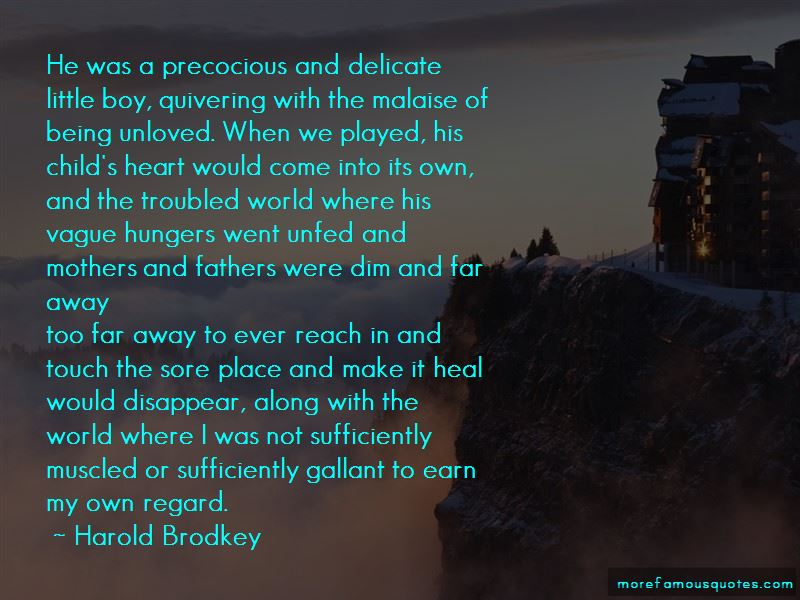 Harold Brodkey Quotes Pictures 4