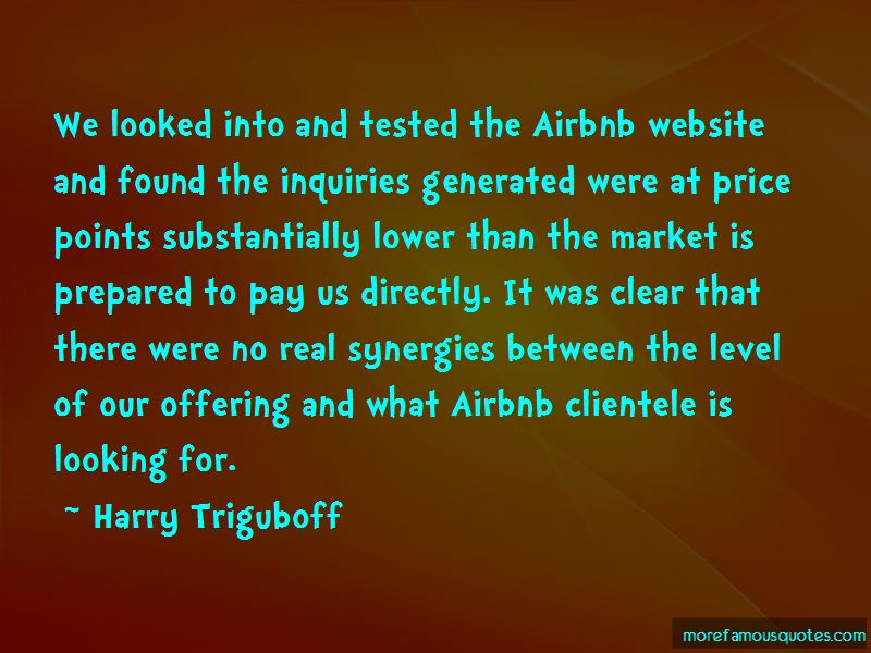 Harry Triguboff Quotes Pictures 4
