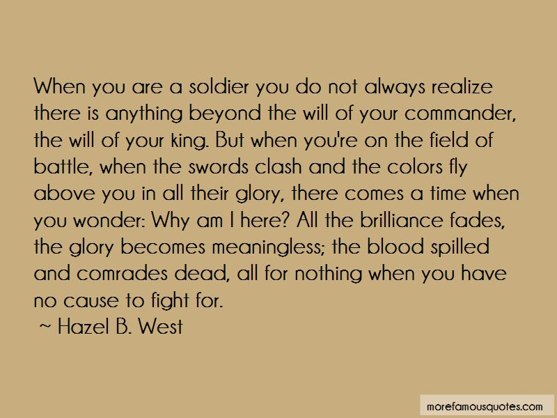 Hazel B. West Quotes Pictures 4