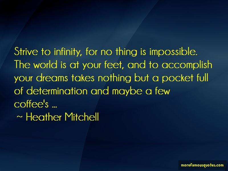 Heather Mitchell Quotes
