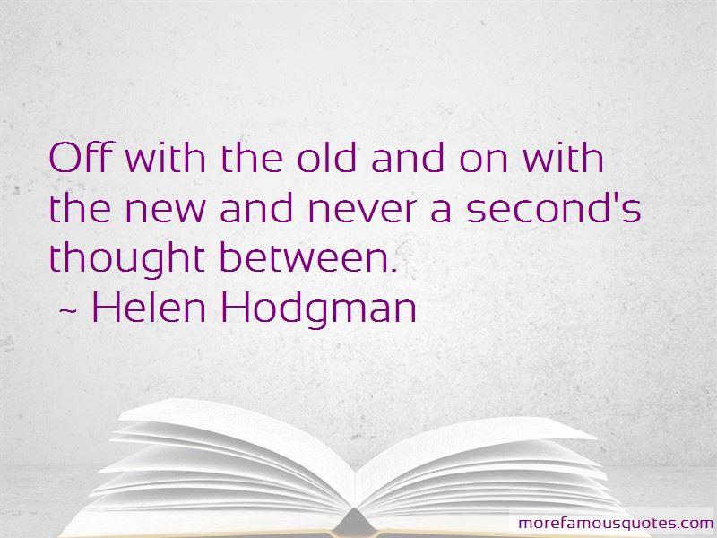 Helen Hodgman Quotes Pictures 2