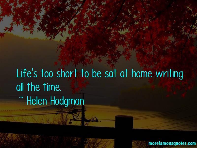 Helen Hodgman Quotes Pictures 3