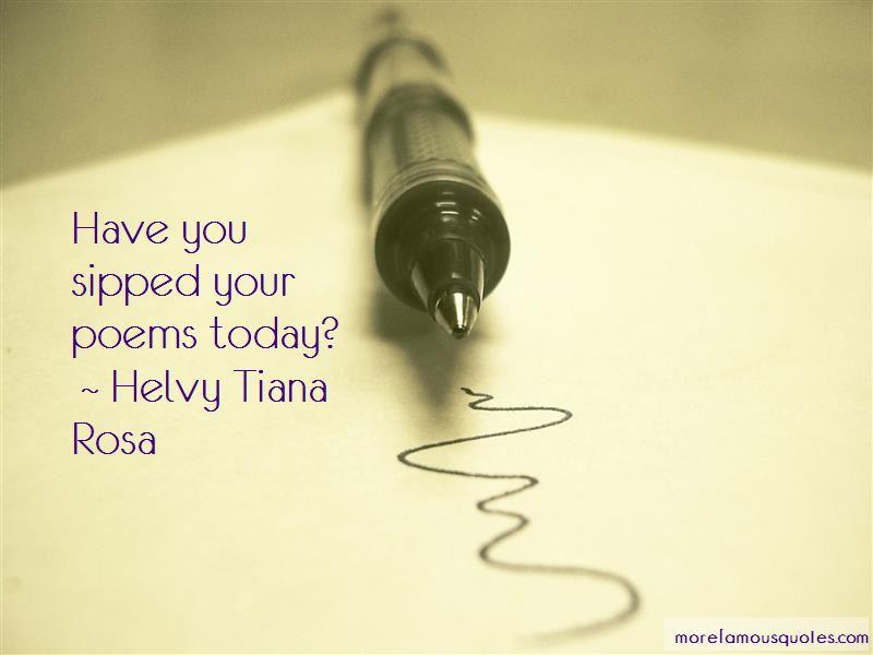 Helvy Tiana Rosa Quotes