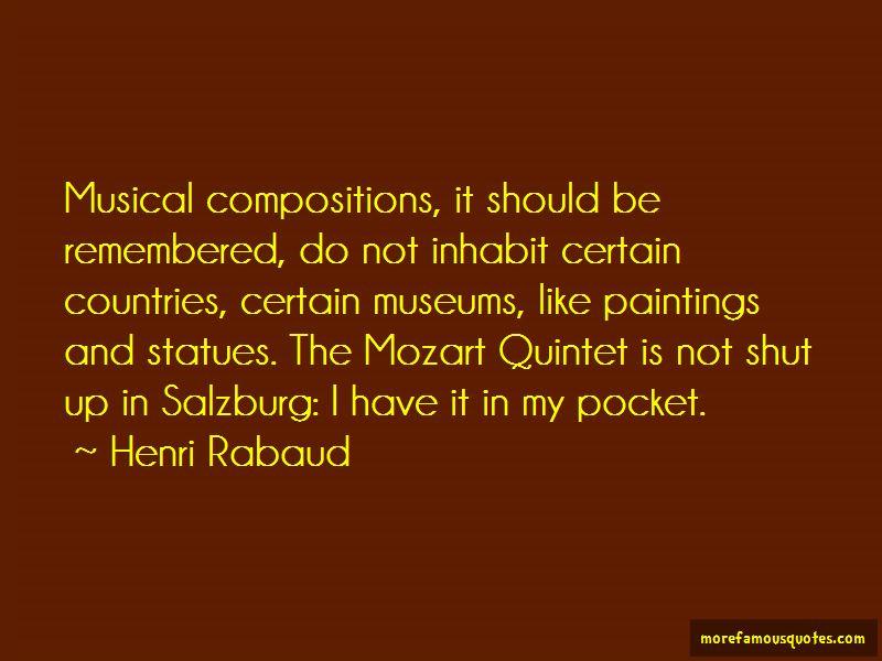 Henri Rabaud Quotes
