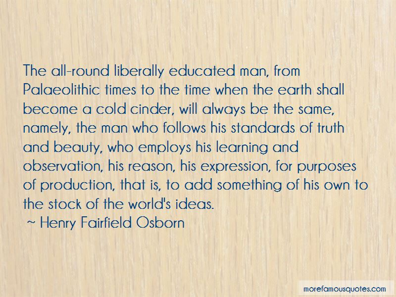 Henry Fairfield Osborn Quotes Pictures 2
