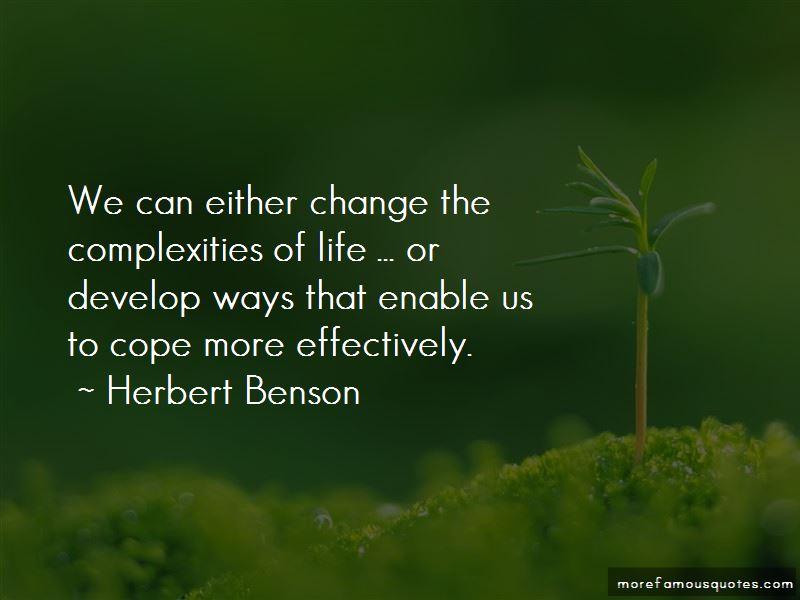 Herbert Benson Quotes Pictures 4