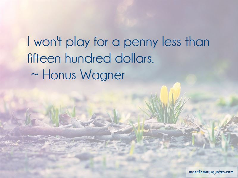 Honus Wagner Quotes Pictures 3