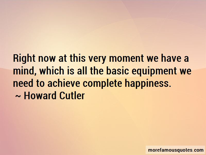 Howard Cutler Quotes Pictures 3