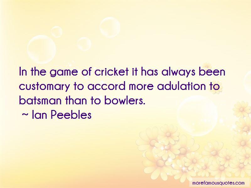 Ian Peebles Quotes