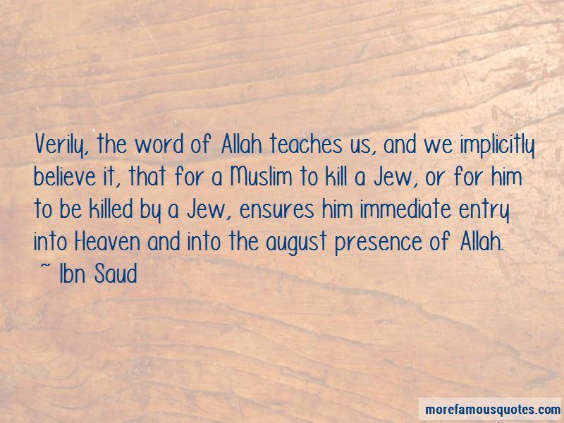Ibn Saud Quotes