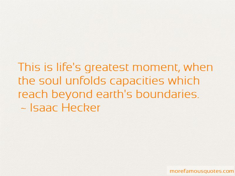 Isaac Hecker Quotes