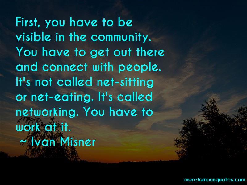 Ivan Misner Quotes Pictures 2