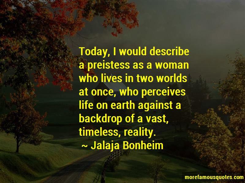 Jalaja Bonheim Quotes Pictures 2