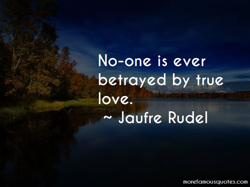 Jaufre Rudel Quotes