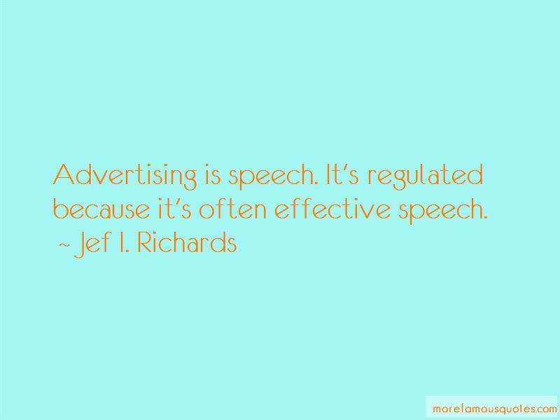 Jef I. Richards Quotes