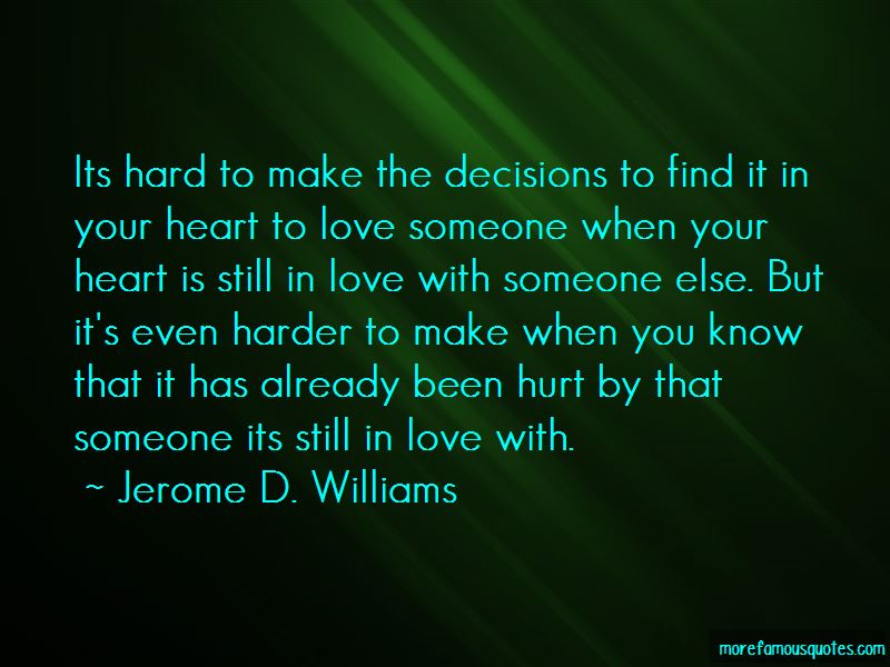 Jerome D. Williams Quotes Pictures 4