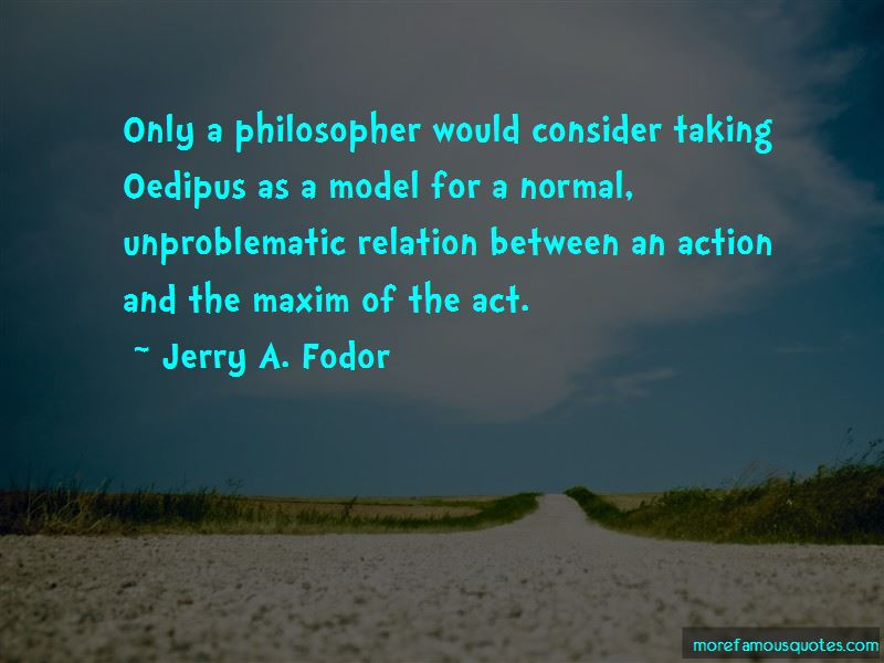 Jerry A. Fodor Quotes Pictures 2