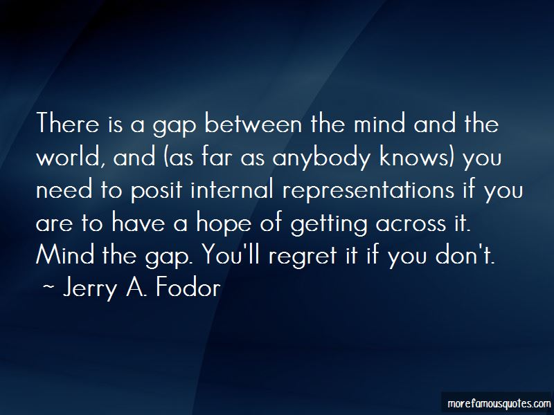 Jerry A. Fodor Quotes Pictures 3