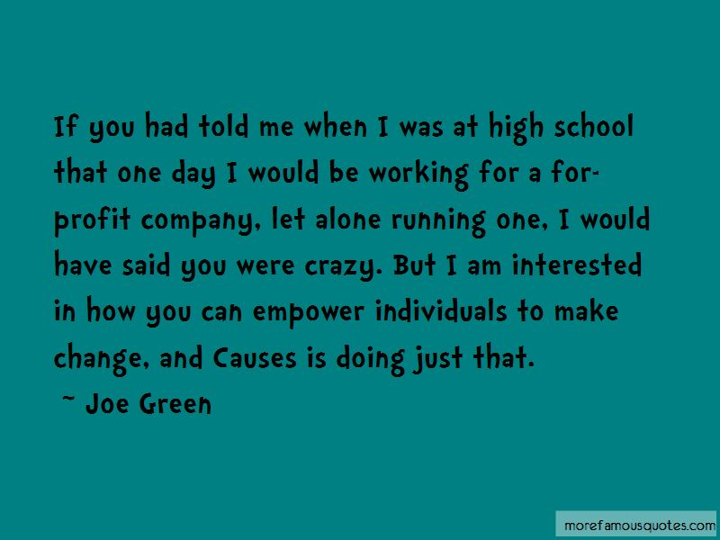 Joe Green Quotes Pictures 3