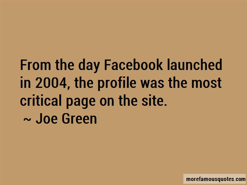 Joe Green Quotes Pictures 4