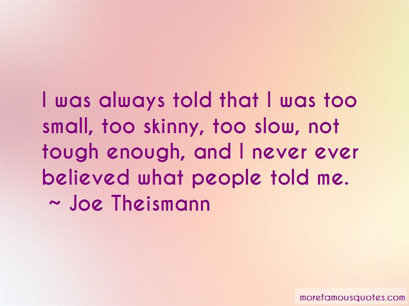 Joe Theismann Quotes Pictures 2
