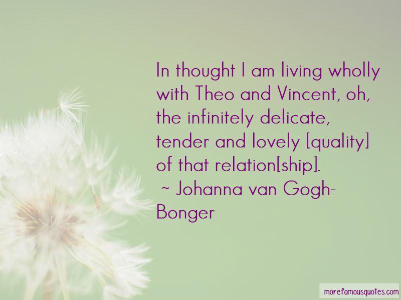 Johanna Van Gogh-Bonger Quotes Pictures 3
